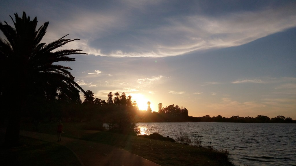 Lake Monger Sunset