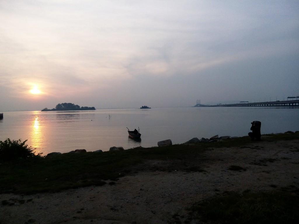 Bikelah fishing at dawn