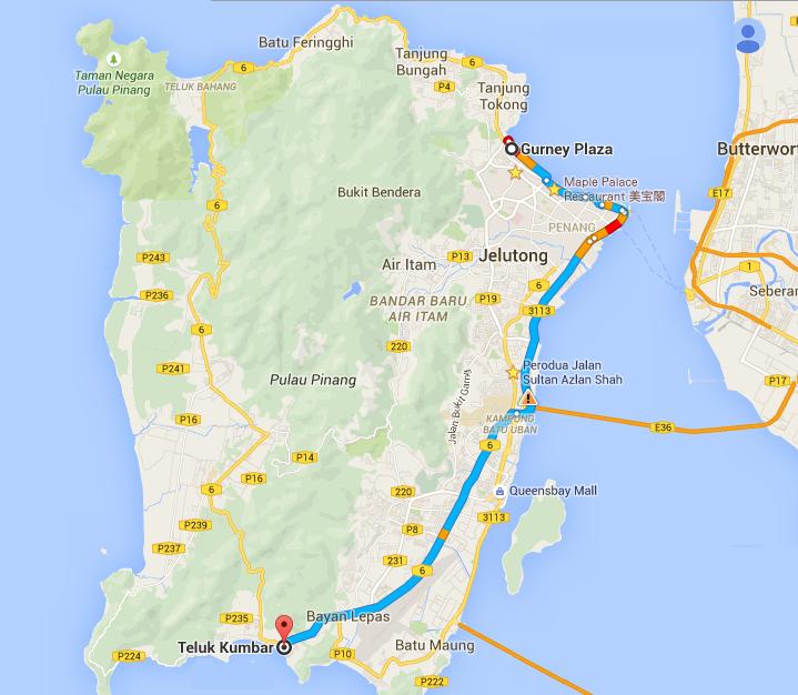 Bikelah half island cycle route