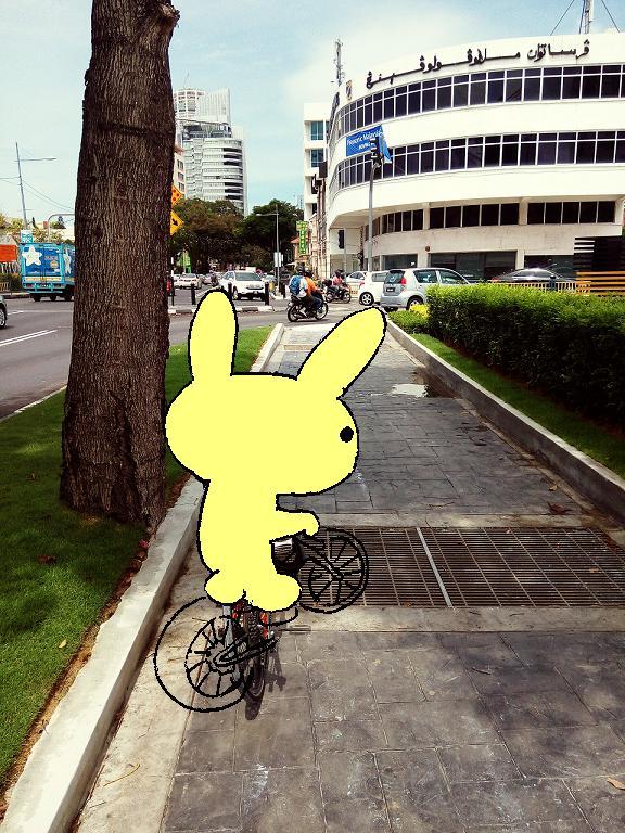 Bikelah Bunny In Penang 1