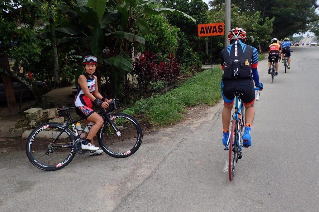 Bikelah Lady Cyclist