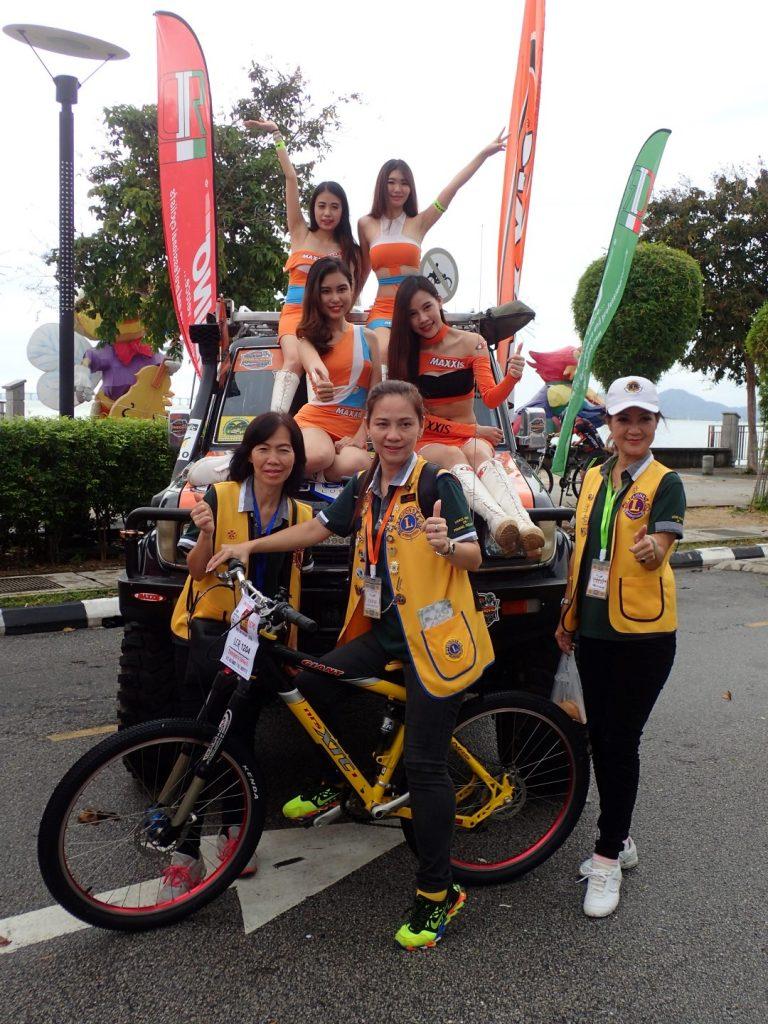 Lions Penang Ride Bikelah Ladies
