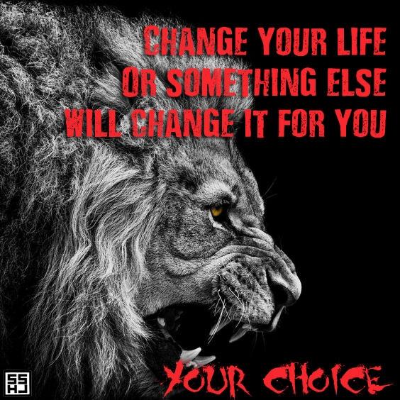 Motivational Lion