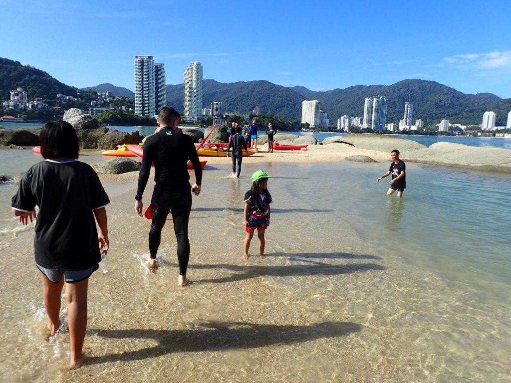 Bikelah Tikus Island Swim