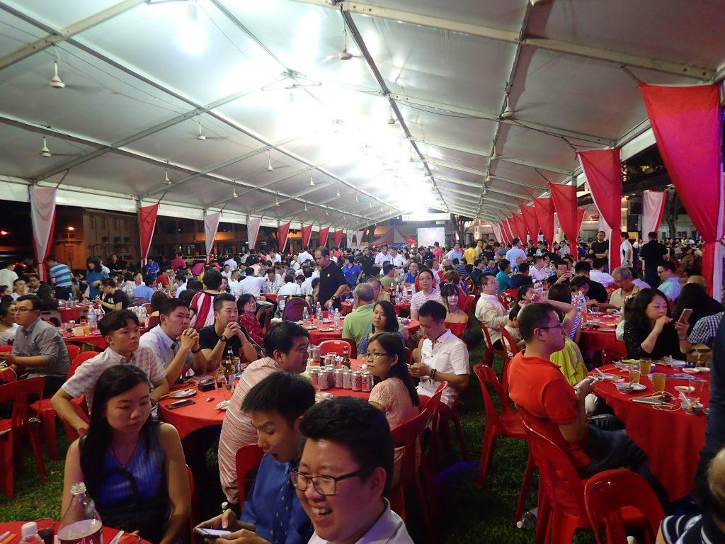 Sam Bikelah Chung Ling Dinner