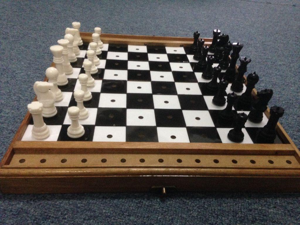 Blind Chess Board Bikelah