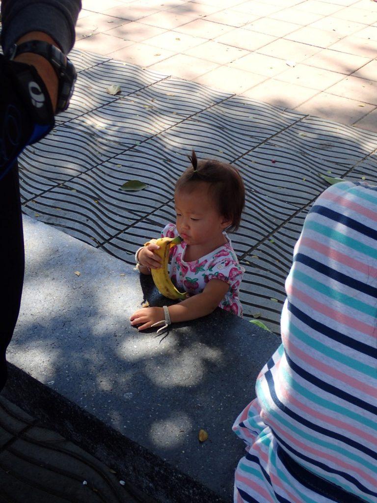 Chiang Rai Bikelah Girl Banana