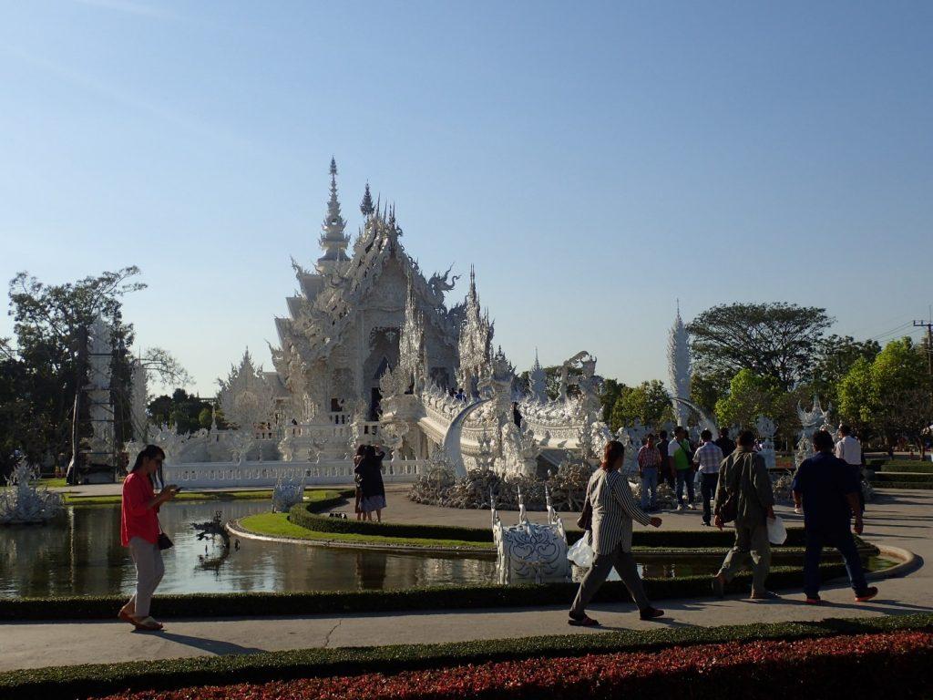 Chiang Rai White Temple Bikelah