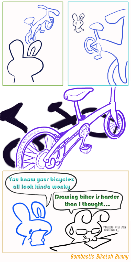 Bikelah Bunny Webcomic Ep 3
