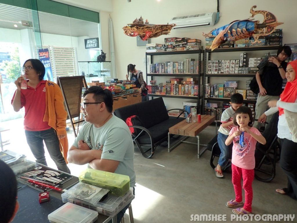 Best Board Game Shop RNG Games Penang SamShee