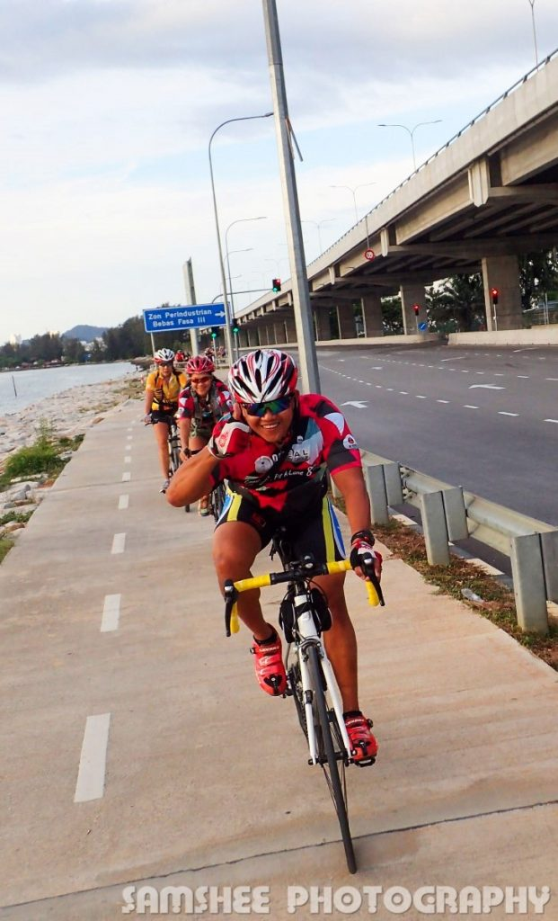 Penang Relau Sports Complex Cycling with Sam