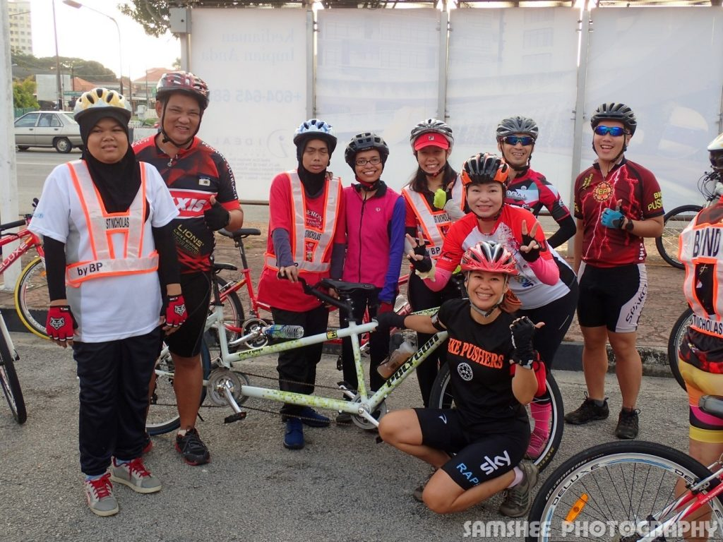 VIP Cycling with Blind
