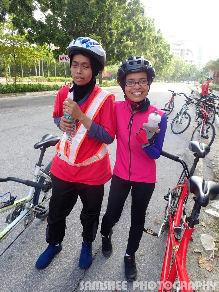 VIP Cycling with Blind Tandem Bike
