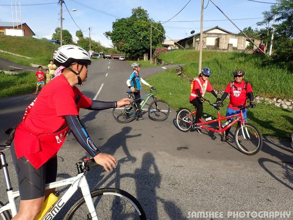 Tour de VIP Kampar Random Tandem Cycling