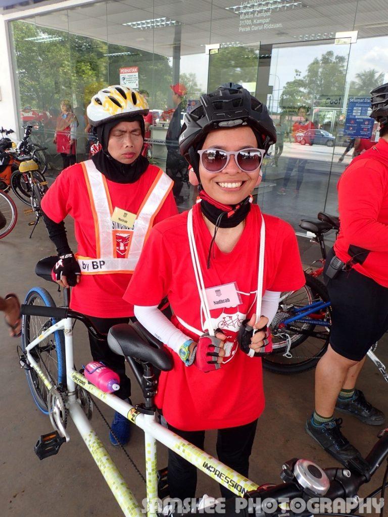 Tour de VIP Kampar Tandem Cycling Nadrah