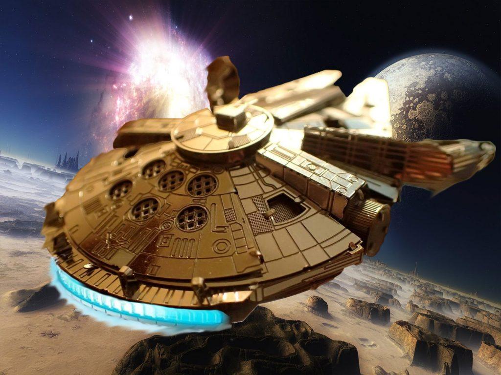 Millennium Falcon Space