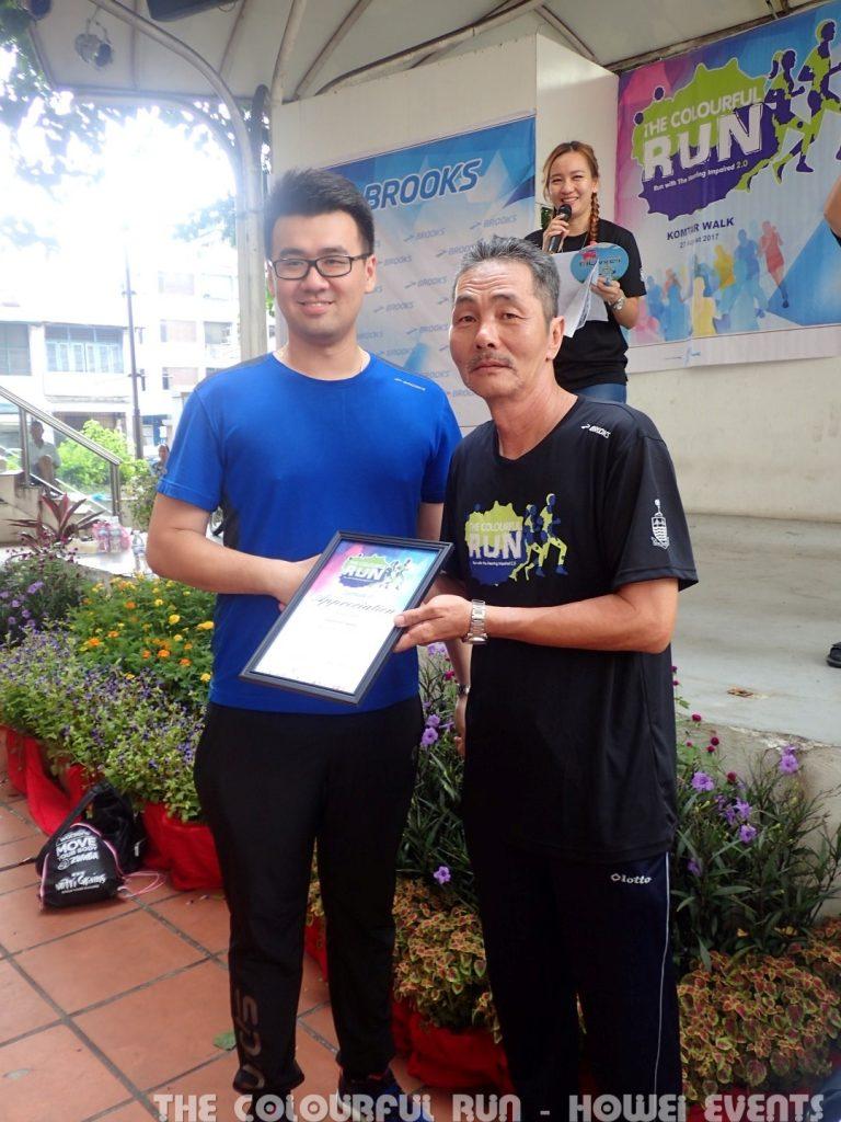 Penang Deaf Association Colourful Run Howei