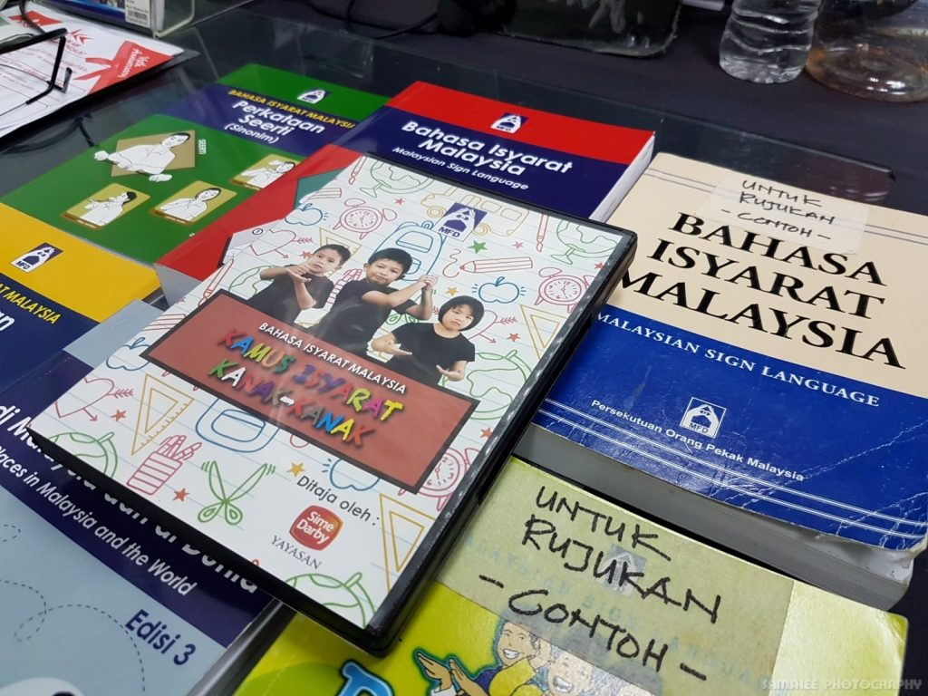 Penang Deaf Association Sign Language Book