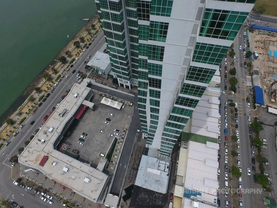 Aerial Penang Drone Photo