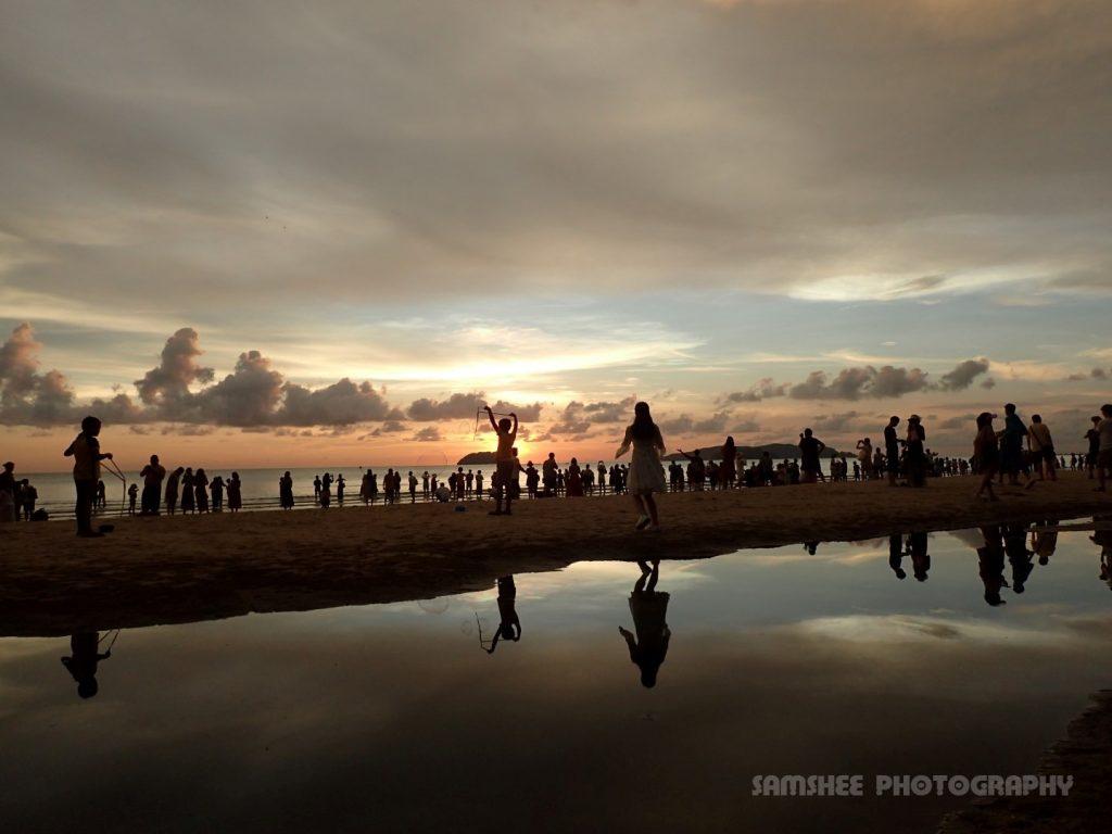 Pantai Aru Beach Sunset