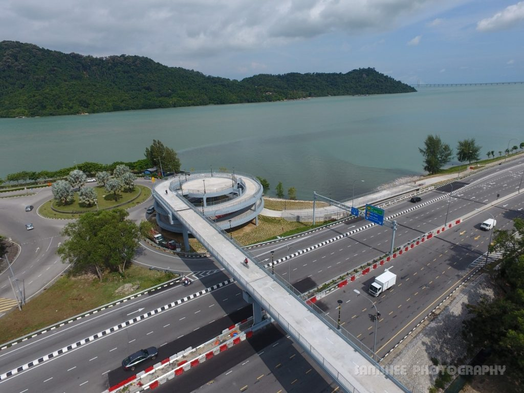 Penang Queensbay Bayan Lepas Spiral Bridge of Hope