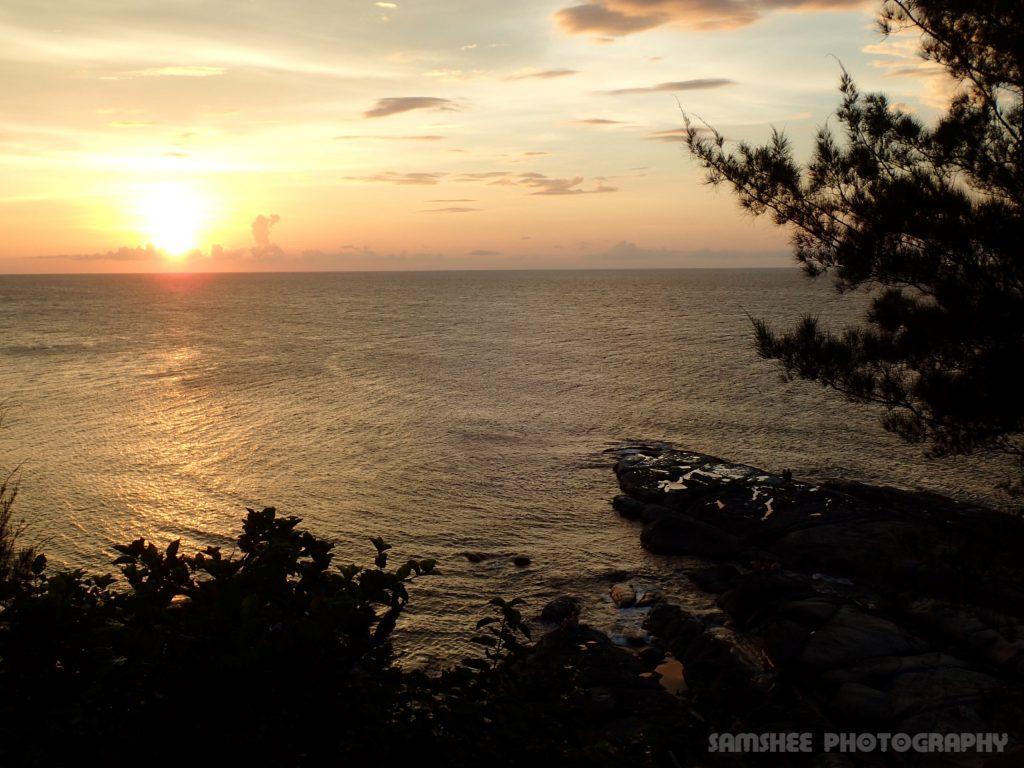Sabah Kudat Tip Borneo Ocean Sunset