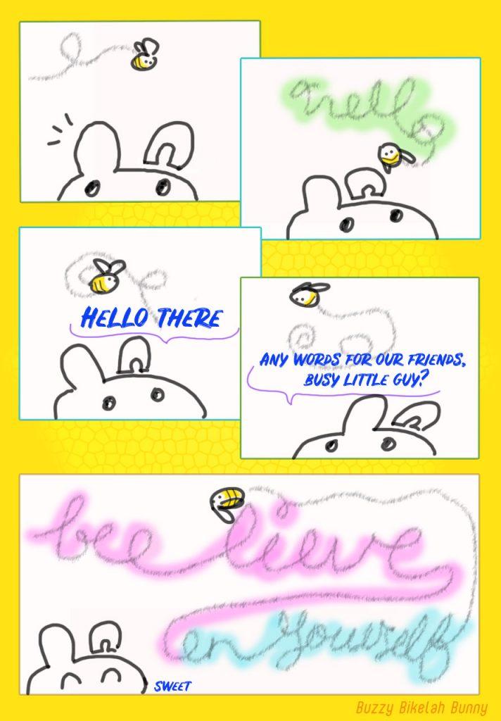 Bikelah Bunny Beelieve