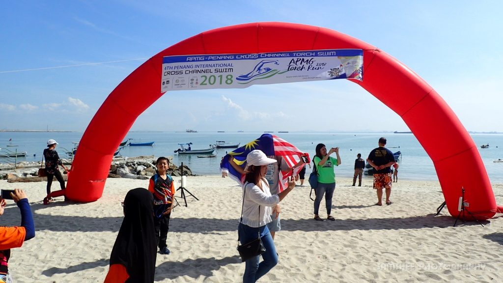 Penang Asia Pacific Masters Games Cross Channel Swim