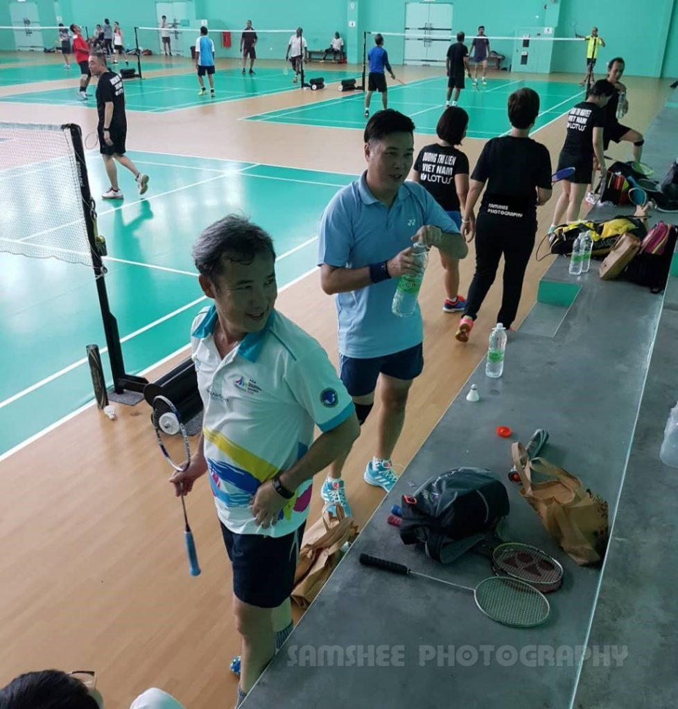 Relau Sports Complex Penang Badminton