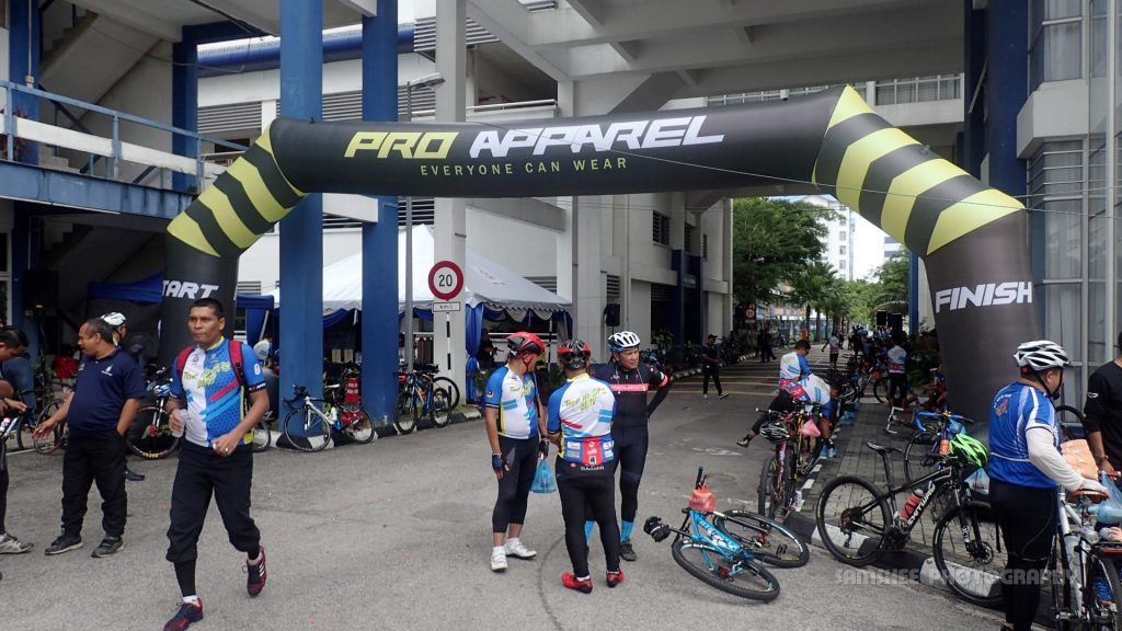 Tour de SPS Cycling Police Ride Penang