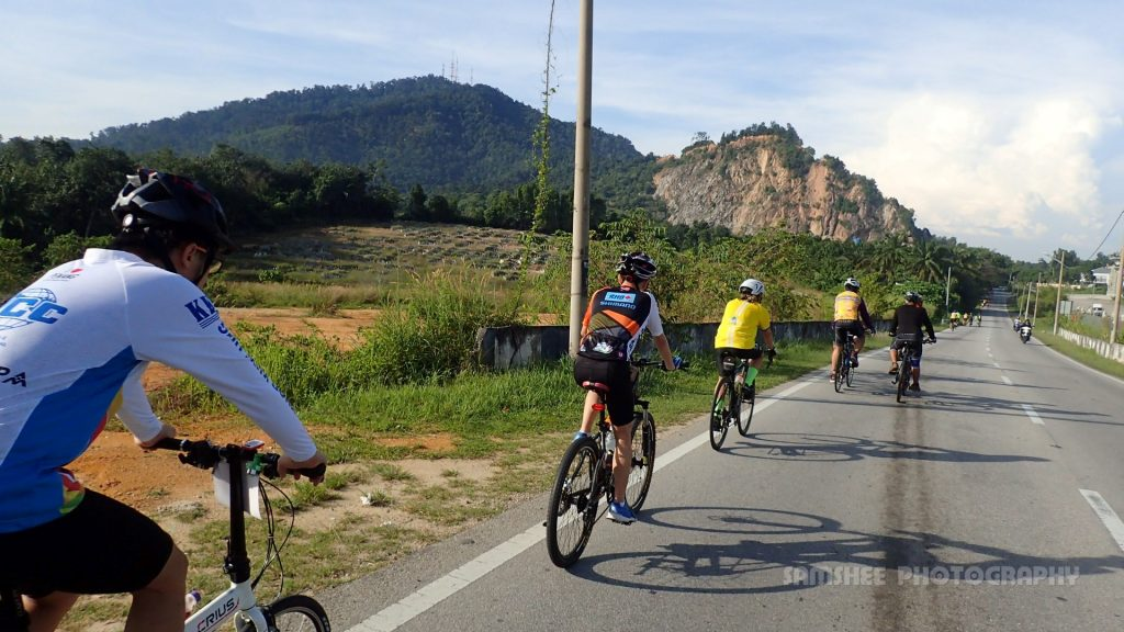 BM Charity Ride Penang Howei Cycling
