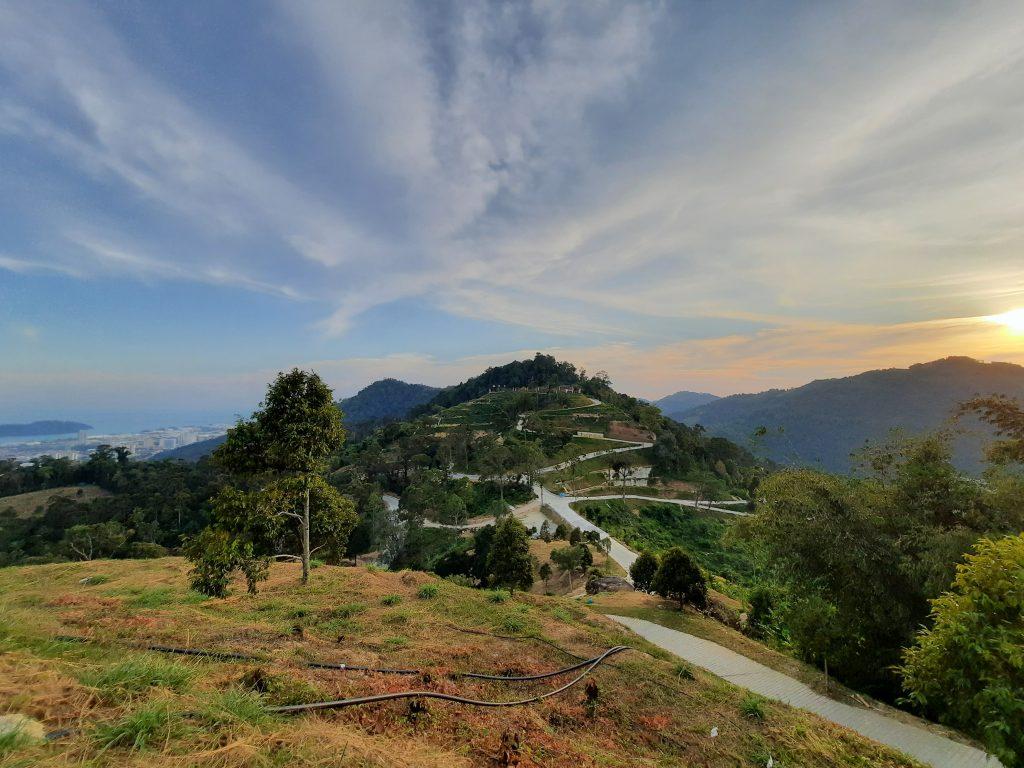 Botak Hill from Bukit Gambir