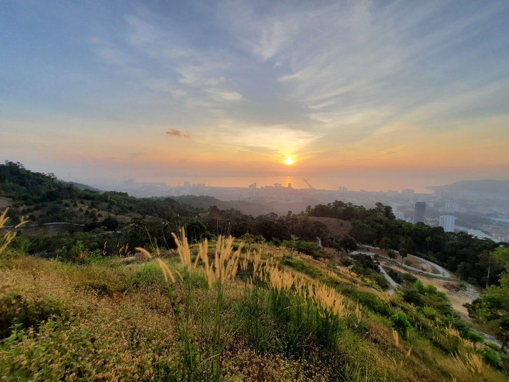 Iconic Hill Penang Sunrise